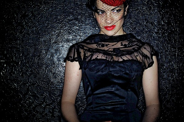 Camille O'Sullivan performs at Ballina Fringe Festival 2019 in Ballina, Co Mayo