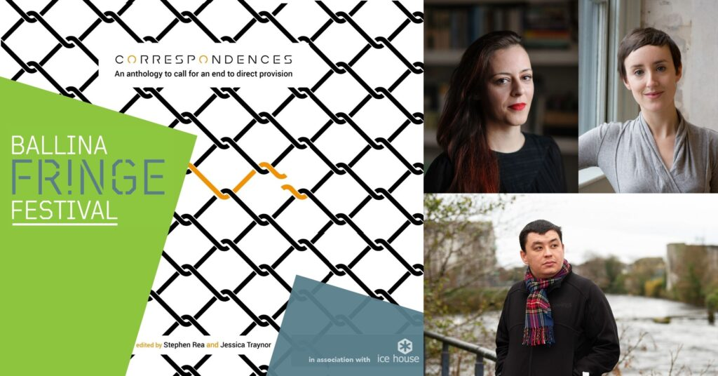 Cover image for Correspondences: Giving Voice to Direct Provision event at Ballina Fringe Festival 2020
